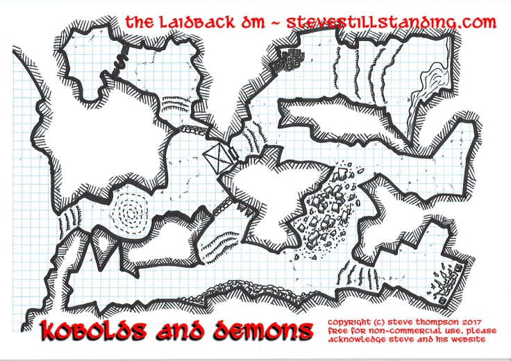Kobolds and Demons Map 15x10 - stevestillstanding