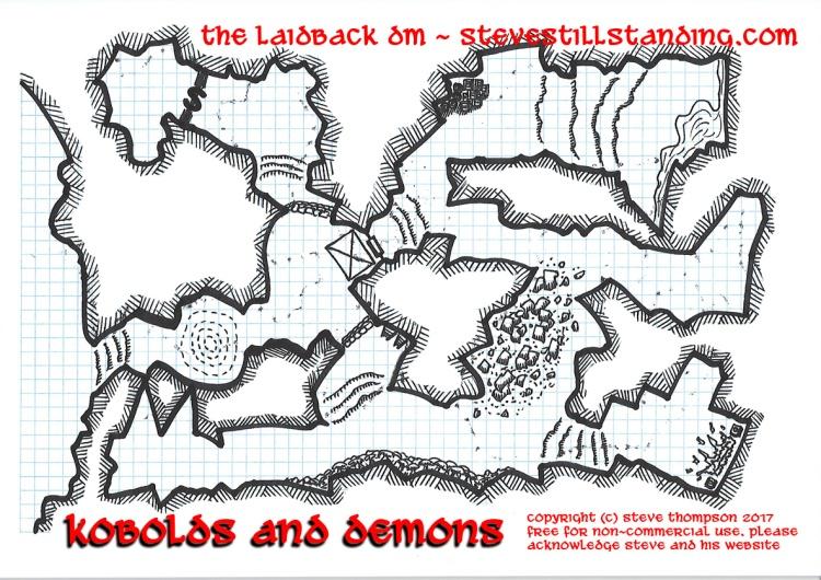 Kobolds and Demons Map 15x10 - stevestillstanding