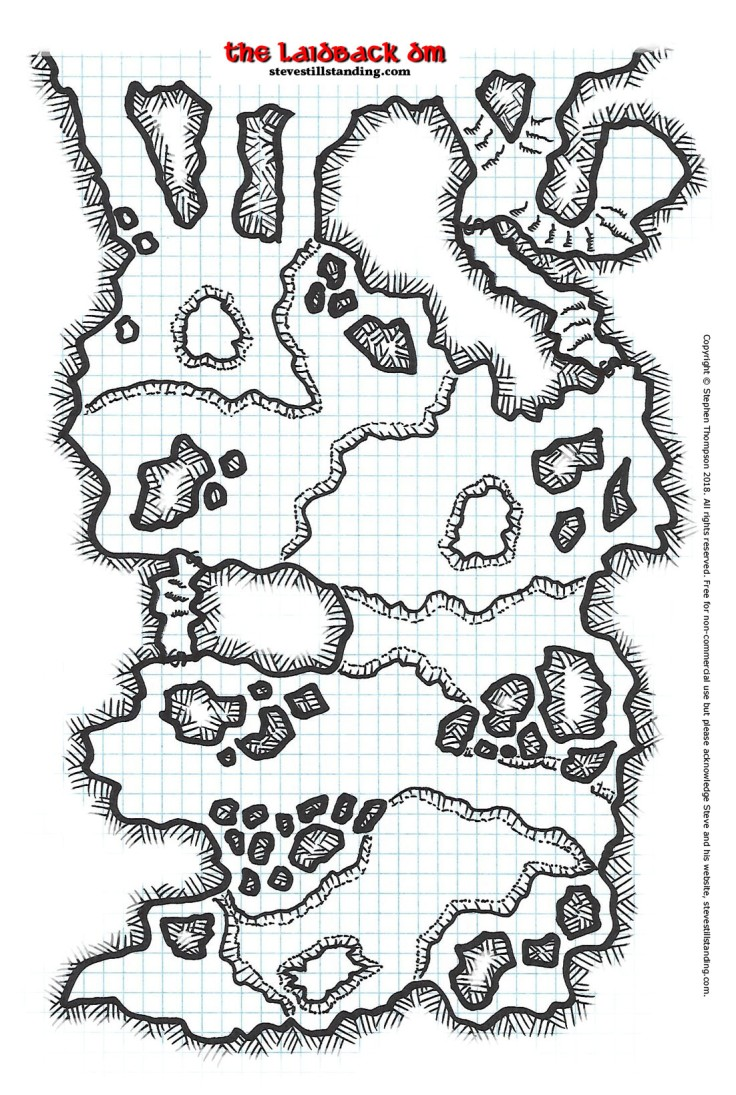 Dragon's Lair Map
