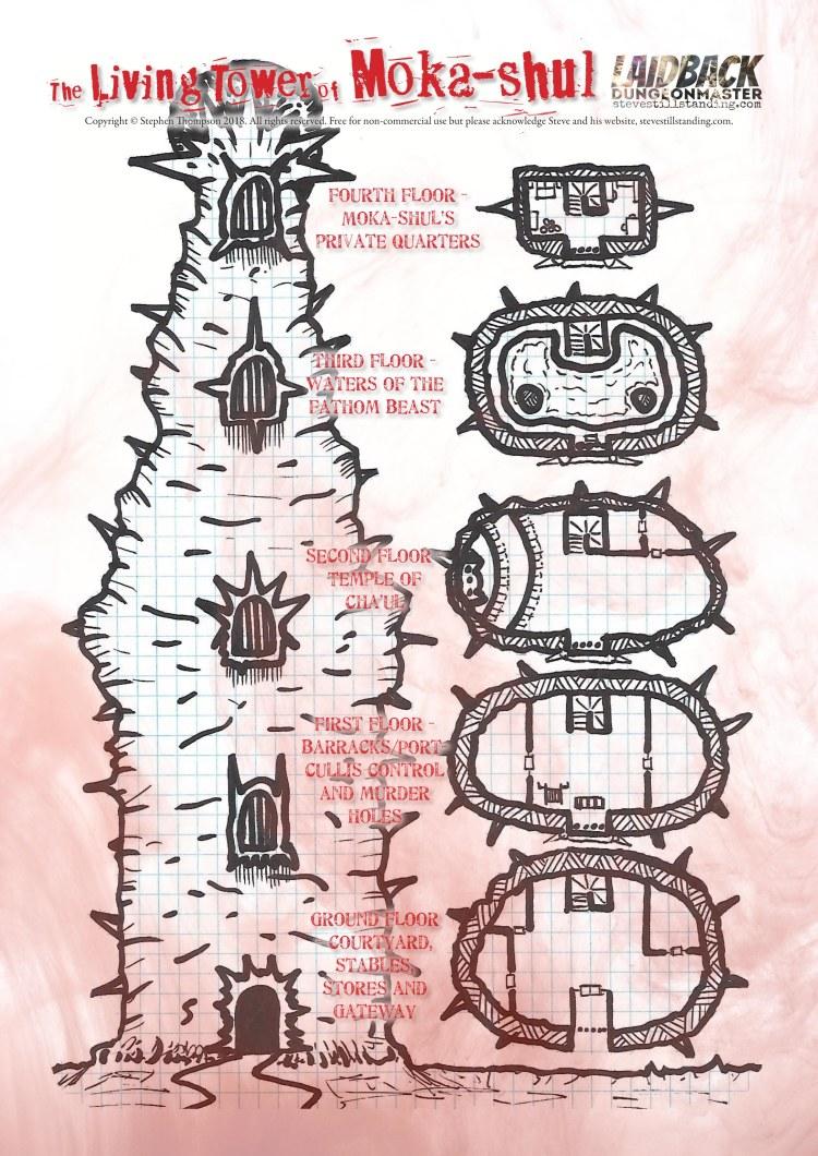 The Living Tower of Moka-Shul