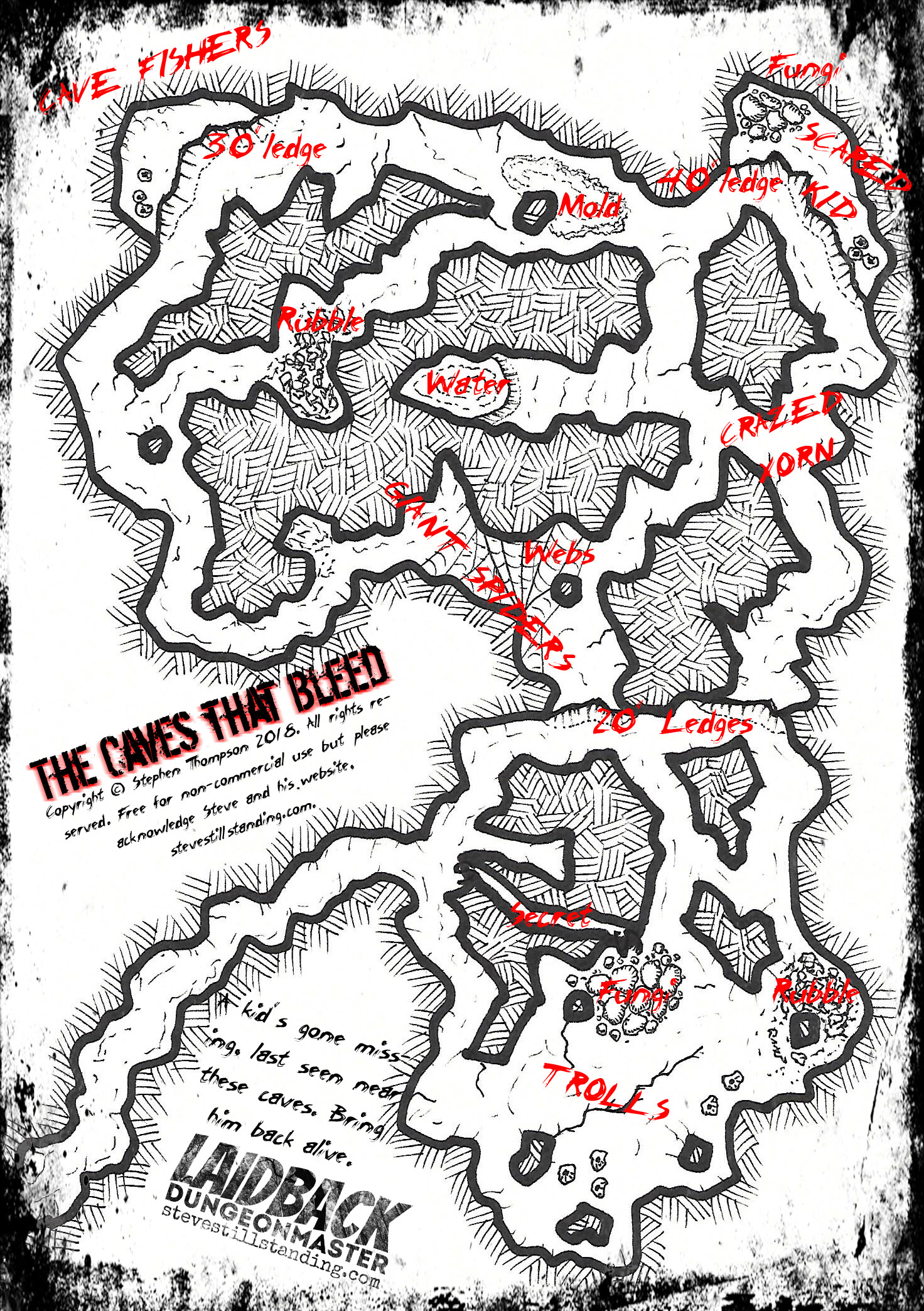 picture regarding Sunless Citadel Printable Map called Dungeons and Dragons Site 2