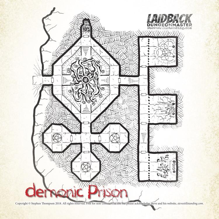 Demonic Prison - Laidback DM - stevestillstanding