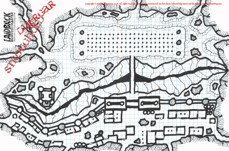 Duergar Stronghold - Laidback DM - stevestillstanding copy