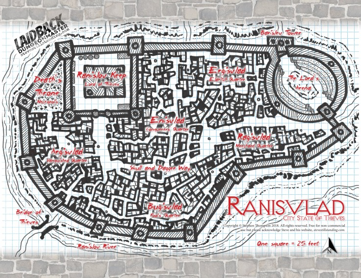 Ranisvlad City State of Thieves - Laidback DM - stevestillstanding