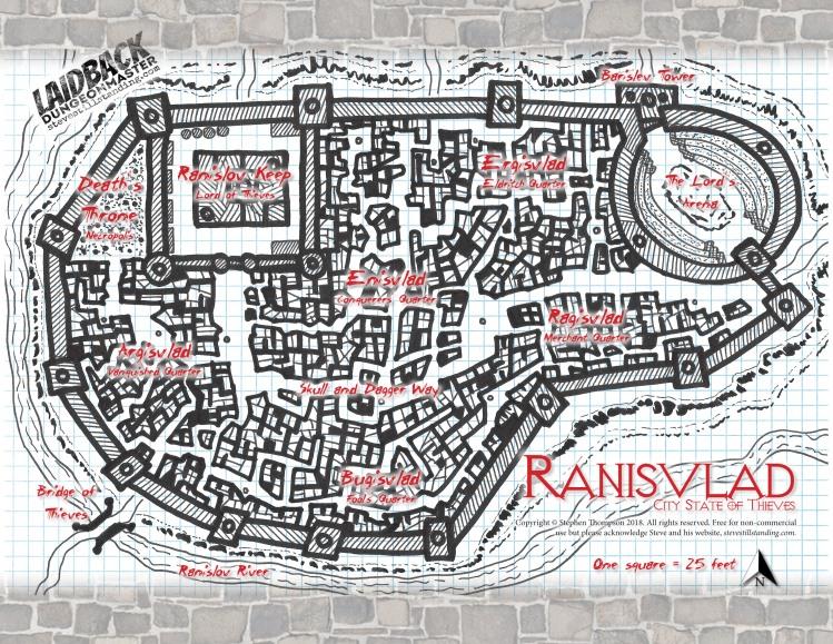 Ranisvlad City State of Thieves - Laidback DM - stevestillstanding