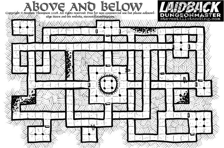 above and below - laidback dm - stevestillstanding
