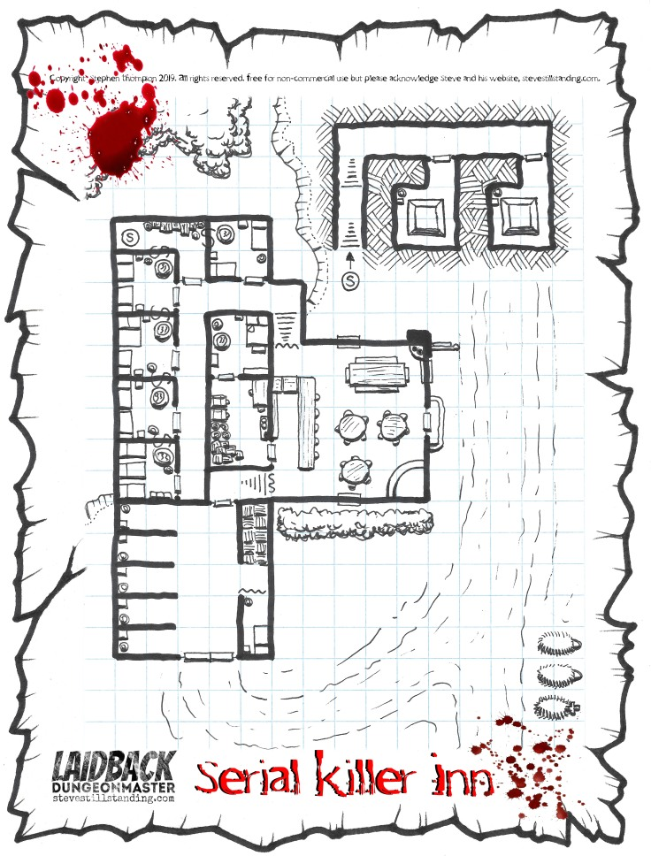 serial killer inn - laidback dm - stevestillstanding