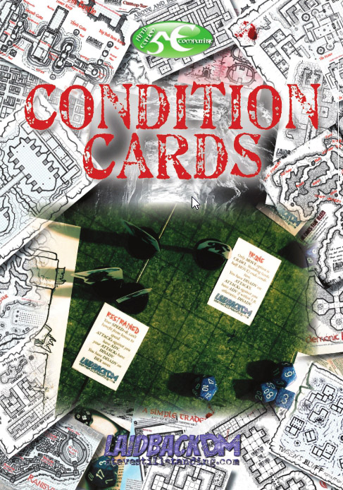 Condition Cards Cover - Laidback DM