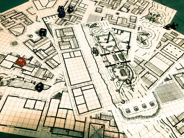 Laidback DM - Connectable Town Maps 1