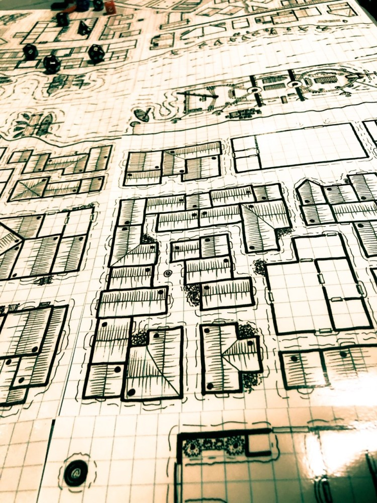 Laidback DM - Connectable Town Maps 2