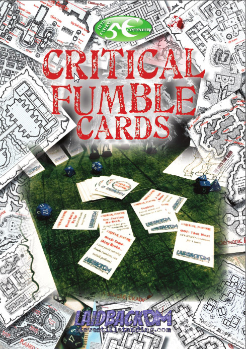 Critical Fumble Cards - Laidback DM