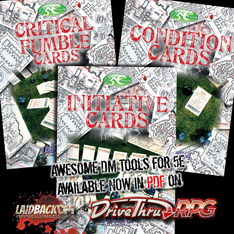 Laidback DM Ad - Cards
