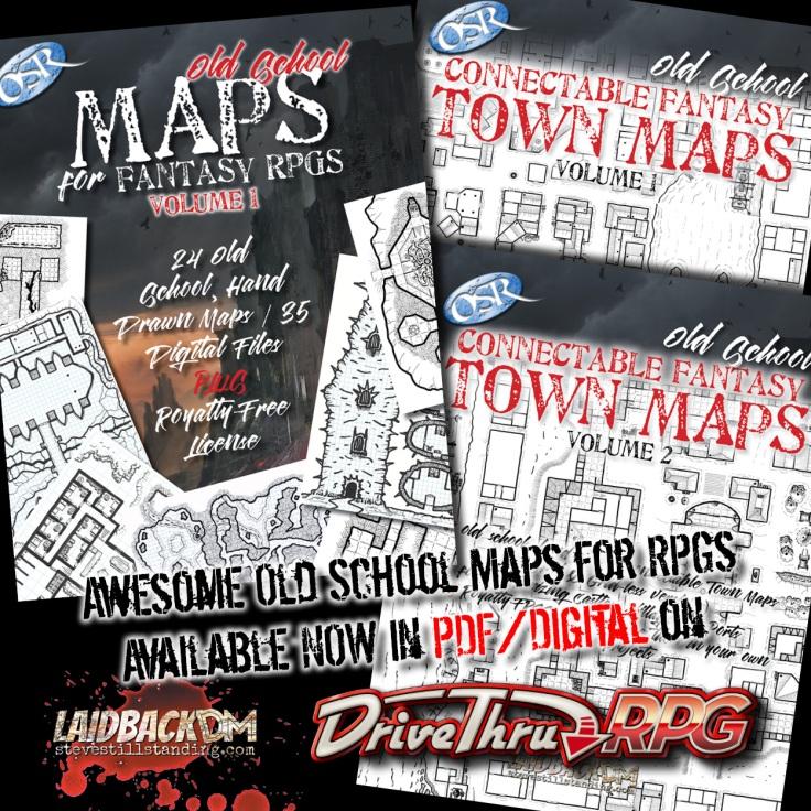 Laidback DM Ad - Maps