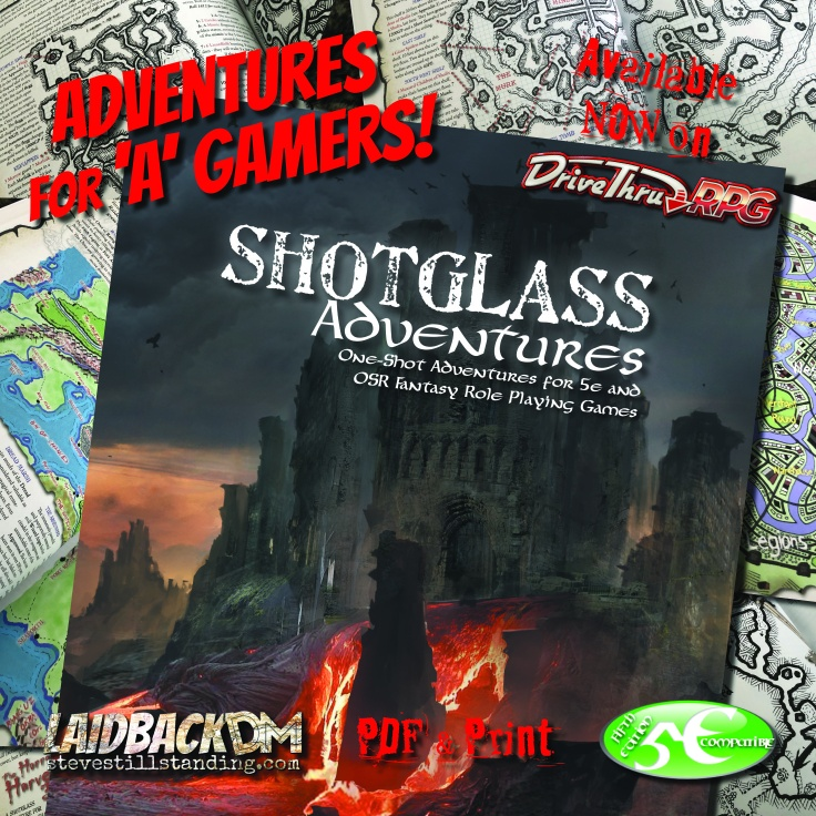 Shotglass Adventures at DrivethruRPG.com