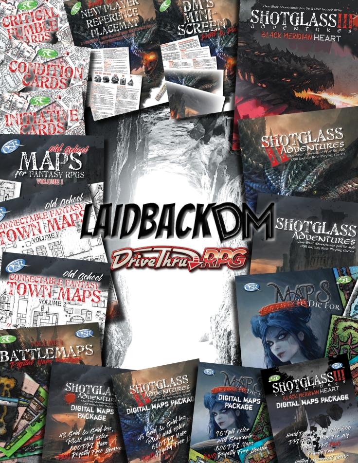 LaidbackDM AD DrivethruRPG