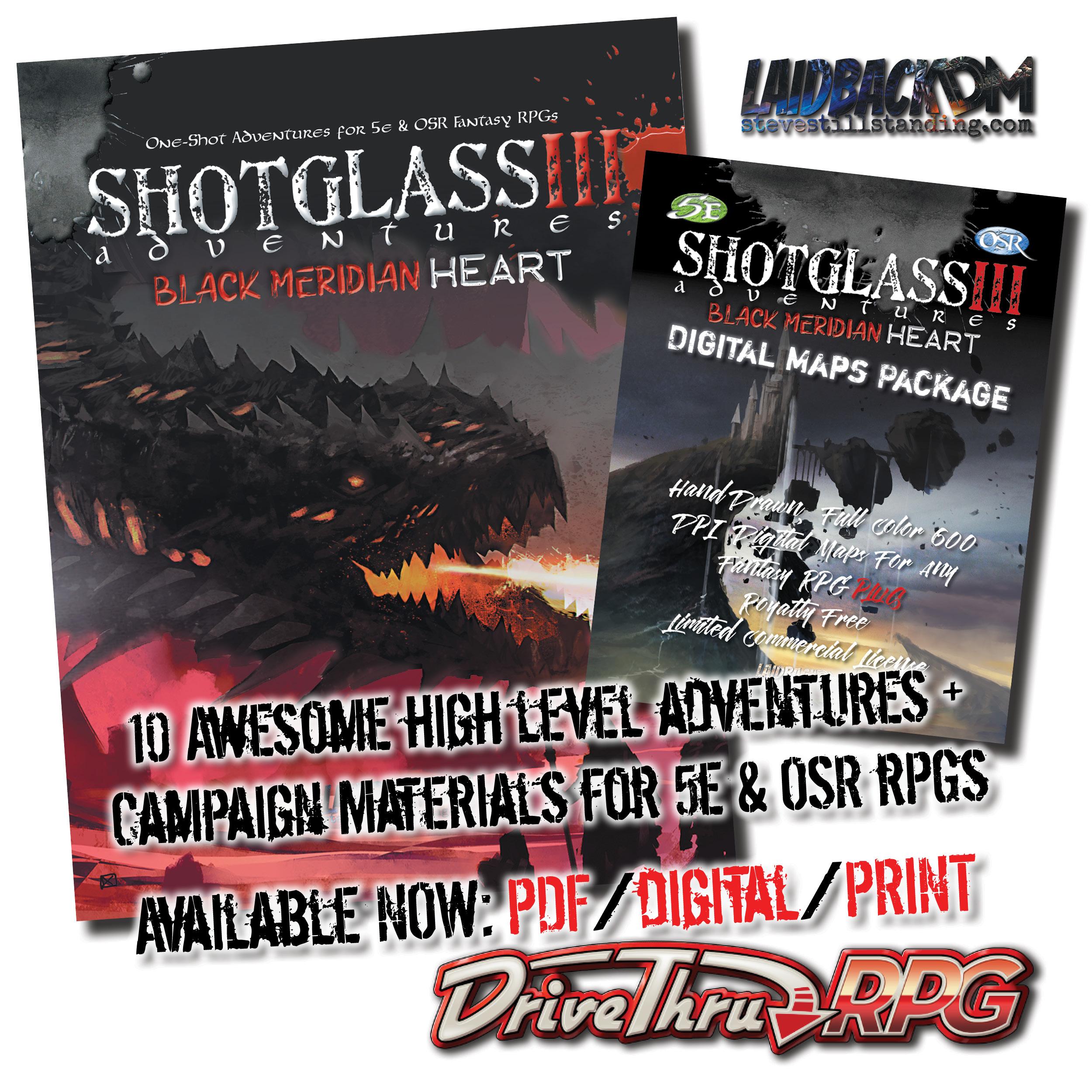 Laidback DM - Shotglass Adventures 3 - AD1