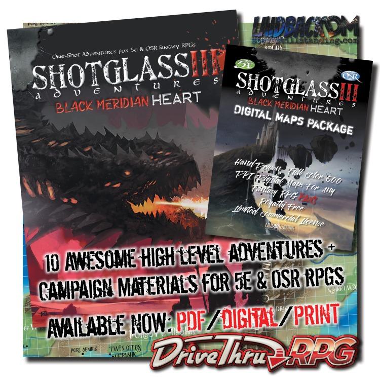 Laidback DM - Shotglass Adventures 3 - AD4