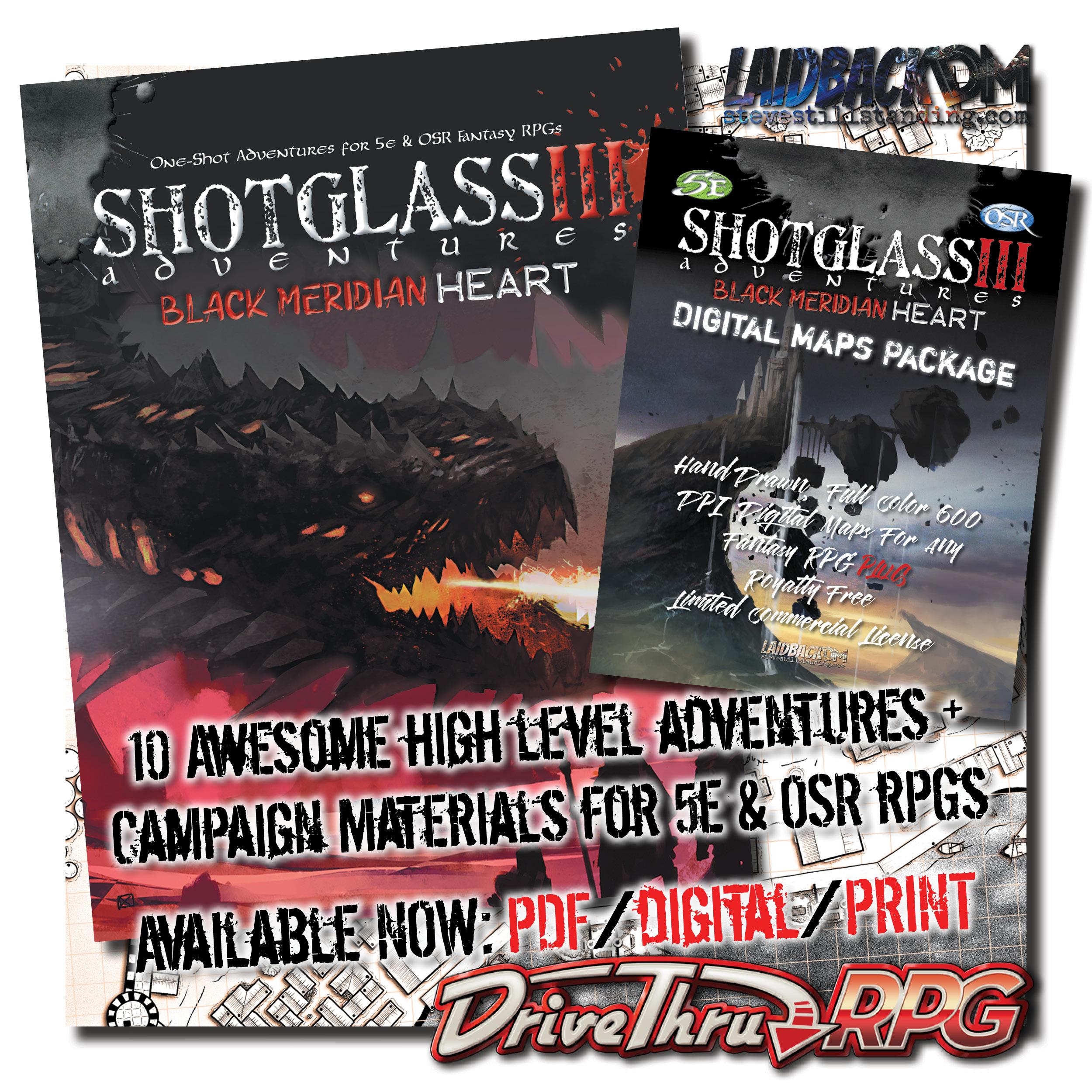 Laidback DM - Shotglass Adventures 3 - AD6