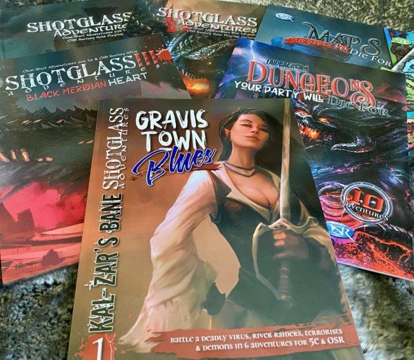 Laidback DM - My books!