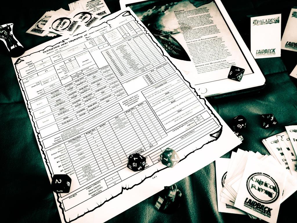 Laidback DM - Stuff for Beginner DMs